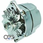 New Alternator Chrome 10SI 100 AMP ONE WIRE BBC SBC CHEVY High Output 7127-SE  for sale