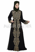 MODERN DUBAI GEORGETTE ARABIAN FANCY DESIGN BY MAXIM CREATION JILBAB DRESS 5782