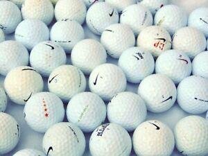 52 x Nike Grade B Golf Balls Very Playable Condition