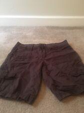 Apt 9 Petite Ladies Casual Shorts Sz 10P Brown Clothes