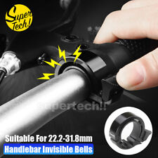 90db Invisible Bicycle Bell Aluminum Bike Handlebar Alarm Horn For 22.2-31.8mm