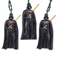 Disney Star Wars Darth Vader Christmas Lights Kurt Adler Holiday Decorations