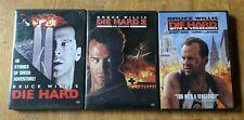 Die Hard 3 DVD Set - Die Hard, Die Hard With A Vengeance, Die Hard 2: Die Harder