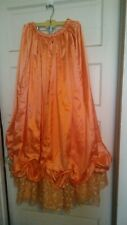 Preowned Civil War, Reenactor, Old West, Victorian Womens Fancy Skirt