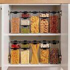 10 Pc/Set Airtight Food Storage Container Set Kitchen Organization Pantry US