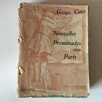 Georges Cain Nouvelles Promenaden IN Paris Ernest Flammarion