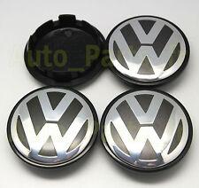 4 Caches Jante moyeux Centre roue Boulon - VW Golf Bora Jetta Touran Passat 65mm