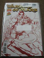 Warlord of Mars #20 John Carter/Dejah Thoris DYNAMIC FORCES RED risque variant