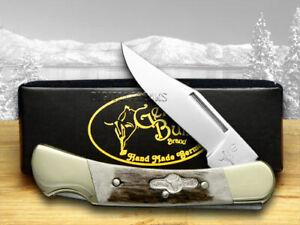 German Bull Lockback Knife Deer Stag German Stainless Pocket Knives GB-110
