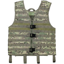 MFH Light Tactical Airsoft Modular Vest Paintball MOLLE Carrier Operation Camo