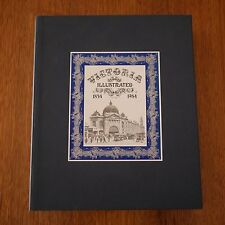 Victoria Illustrated 1834 to 1984 Blue Leather Signed Limited Ed in Slip Case