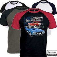 Mens Dodge Charger T Shirt Mopar Chrysler American Classic Muscle Car Clothing