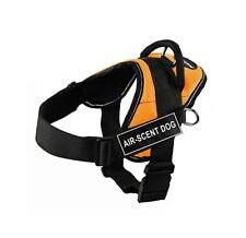 """Dean & Tyler """"Fun"""" Air Scent Dog X-Small Orange Harness with Reflective Trim"""