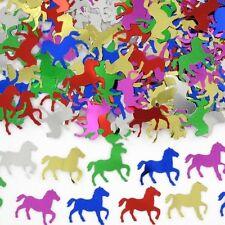 25 GRAMS FOIL MULTI COLOUR HORSE CONFETTI SCATTERS MELBOURNE CUP RACING PARTY