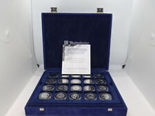 More details for westminster mint united states 50 state quarters platinum plated coin collection