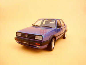 1/18 China VW Volkswagen Jetta GT model blue color