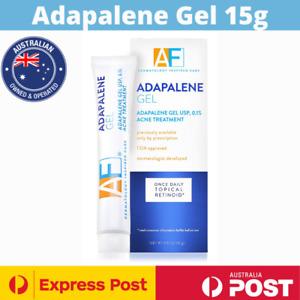 Acne Free 0.1% Adapalene Gel Maximum Strength Acne Treatment 15g NEW