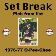 (HCW) 1966-67 O-Pee-Chee NHL Hockey Cards Set Break #1 - Pick From List