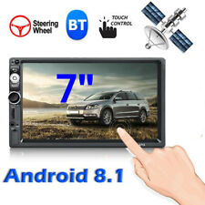 "Android 8.1 2DIN Quad Core Car Stereo Radio 7"" GPS Wifi Multimedia MP5 Player"