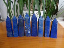 8Pcs Natural Pretty Lapis Lazuli Crystal Point Healing   605g