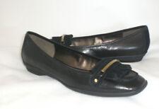 Easy Spirit Hanya loafer pump black leather 8 WIDE New