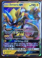 Pokemon Card  ZERAORA  GX  Ultra Rare FULL ART 86/214  LOST THUNDER *MINT*
