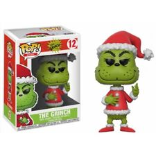 Funko Pop Vinyl Christmas Grinch in Santa Outfit Chase Ltd Ed Figure No 12
