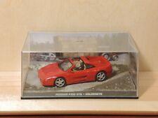 Ferrari F355 GTS red 1:43 - 007 James Bond - Goldeneye - Fabbri n. 10 - MINT