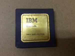 Collection IBM26  6X86 2V2120GB GOLD Ceramic CPU Processor 120MHz
