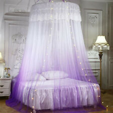 Ceiling-Mounted Mosquito Net Free Installation Home Dome Foldable Bed Canopy