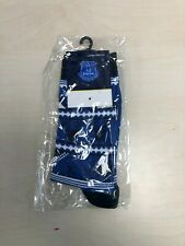 Everton FC Women's Club Christmas Socks Pack of 1 Pair - UK 3-5 - Blue - New