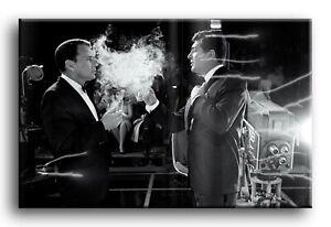 Large Wall Art Canvas Print of Frank Sinatra Dean Martin  Framed