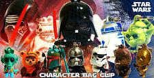 Star Wars Force Awakens Disney Character Bag Clips Keychain C3PO BOBBLE HEAD
