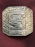 Vintage Sterling Silver Brooch - PERU