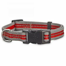 Good2Go Reflective Adjustable Dog Collar in Red, Small By: Good2Go
