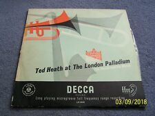 Ted Heath at the London Palladium ~ Decca ~ LK 4062