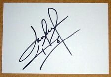 DARREN HUCKERBY NORWICH CITY  PERSONALLY SIGNED AUTOGRAPH INDEX CARD