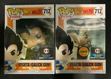 Funko Pop! Dragon Ball Z Vegeta Galick Gun Chalice Regular & Chase Set in Hand