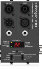 NEW Behringer CT200 Cable Tester Microprocessor-Controlled 8-in-1 AV DMX PA
