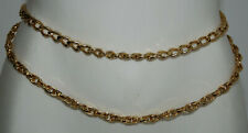 GUESS USA Gold Coloured Double Chain Women's Waist Belt
