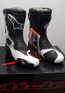 NOS Alpinestars Stella S-MX5 Black /White Size 8.5 222319-21-40