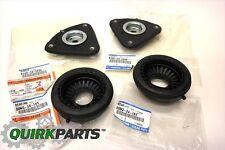 Mazda 3 5 Front Upper Suspension Shock Strut Mounts & Bearing Bushings Set OEM