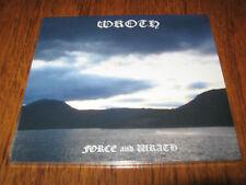 """WROTH """"Force and Wrath"""" CD  ildjarn nidhogg orodruin"""