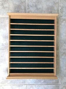 Golf Ball Display Wall Case - Holds 80 Balls