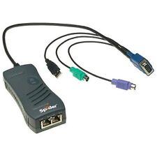Lantronix Securelinx Spider 1-port Remote Kvm-over-ip - 1 X 1 - 1 X Mini-din