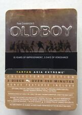 Oldboy (DVD, 2006, 3-Disc Set) Limited Edition Tin, Film Cell, Manga, OOP
