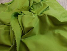 1 Yard_Apple-Lime Green_Linen-Look_Cotton-Rayon Blend Dress_Suiting Fabric