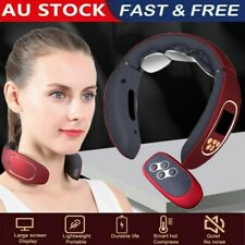 Pro Electric Cervical Neck Massager Body Shoulder Relax Massage Relieve Pain AU