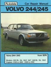 VOLVO 240,244,245,DL,GL,GLT,E,DLE,GLE,SALOON,ESTATE AUTODATA MANUAL 1974-1981