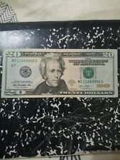$20 Bill Flipper With Fancy Serial Number